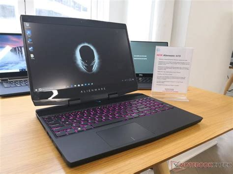 alienware  lekki laptop  waskimi ramkami  gtx  max  purepcpl