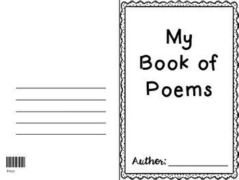 free templates for poetry books poetry book templates by teaching east of the middle tpt
