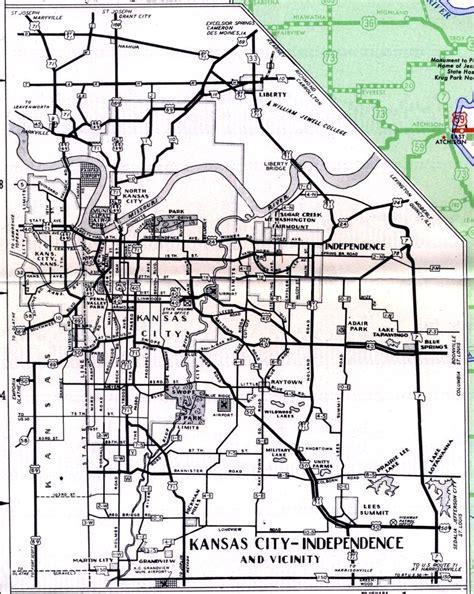 map kansas city kansas interstate map of html kansas usa states map