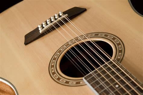Acoustic Guitar Strings guitars gt washburn wd10s12 heritage series acoustic guitar