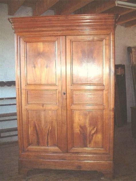 armoire louis philippe ancienne armoire louis philippe ancienne merisier clair antiquites brocante de la tour