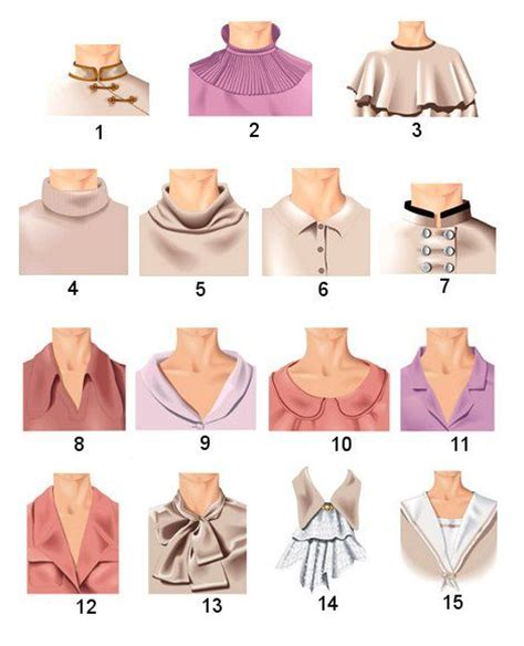 types of leashes types of collars in pictures 1 stand up collar 2 stand lace collar 3