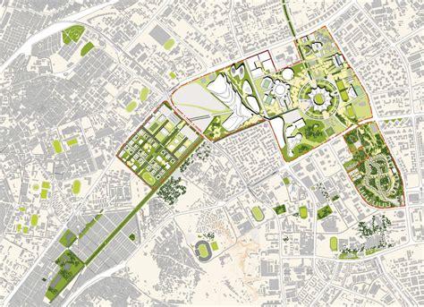 urban layout plan urban master plan rendering google search urban