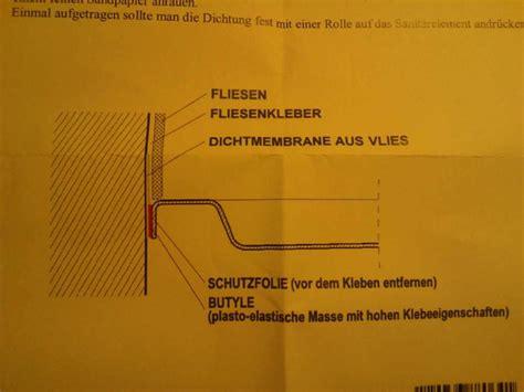 Abdichtung Duschwanne Zu Wand Estrich 6372 by Detailfrage Abdichtung Ebener Dusche Bauforum Auf