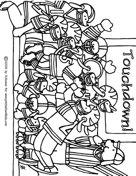 football coloring sheets football coloring pages printable coloring home