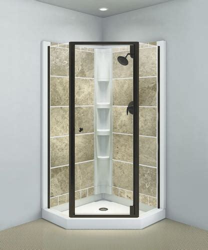 Sterling Solitaire Neo Angle Corner Shower Door At Menards 174 Sterling Neo Angle Shower Door