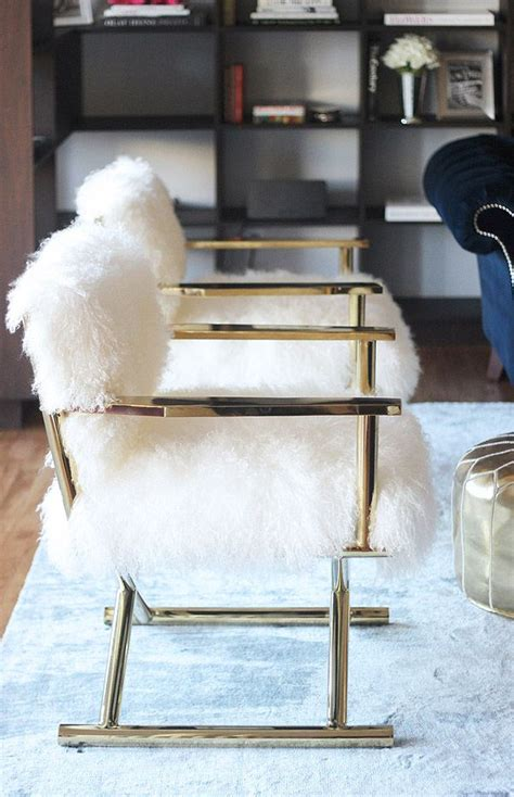 fuzzy sofa best 25 gold chairs ideas on pinterest upholstered
