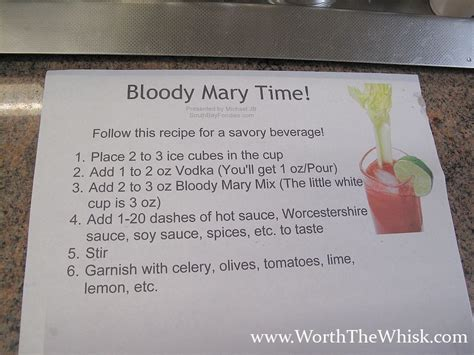 how to make a diy bloody mary bar worth the whisk