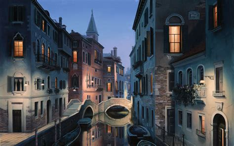 Painting By Eugene Lushpin 2560 X 1600