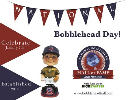 bobblehead day inaugural national bobblehead day has arrived