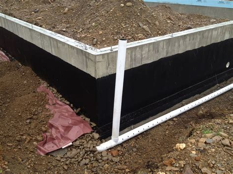 foundation coating and perimeter drain under the sun blog