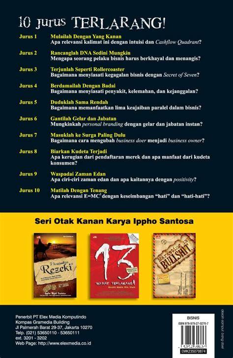 Buku 10 Jurus Terlarang Ippho Santosa Original1 jual buku 10 jurus terlarang bisnis cara biasa oleh
