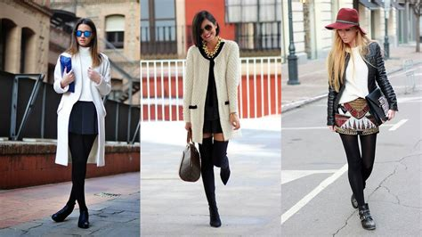 great winter outfit ideas  skirts youtube