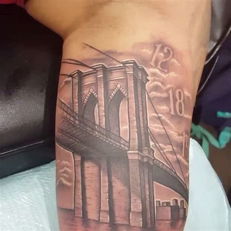 brooklyn bridge tattoo best 25 miami ideas on arm tattoos