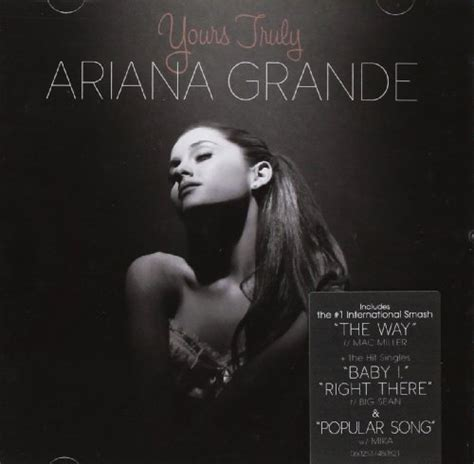 Grande Yours Truly Cd yours truly album by grande lyreka