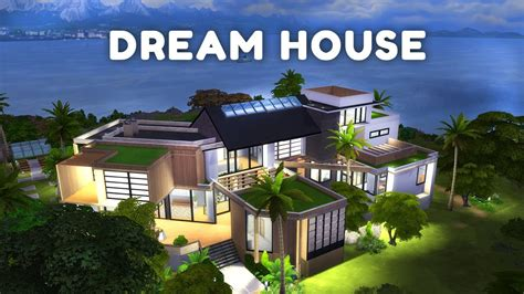 make a dream house my dreamhouse the sims 4 house building w sisligracy youtube