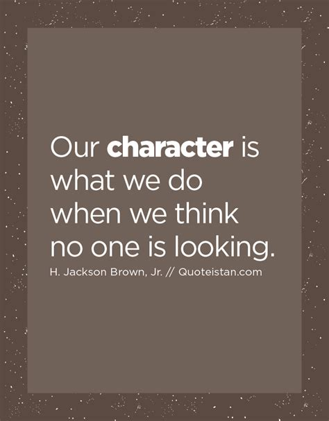 what we think about when we think about soccer books our character is what we do when we think no one is looking
