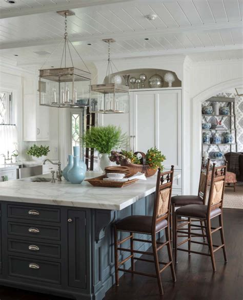 hanging around the kitchen island decohoms 25 dream kitchen islands that are utterly drool worthy