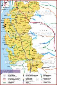 raigad district map map of raigad district