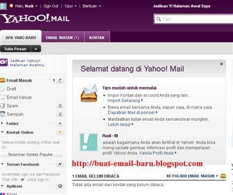 buat email pake yahoo cara buat email baru di yahoo seputar email