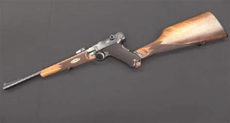 Weapon Background Check Forgotten Weapons Checks Out The Luger Model 1902 Carbine