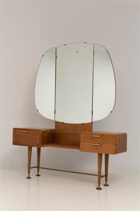 mid century modern vanity or dressing table by a a