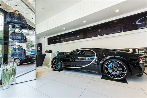 bugatti dealership bugatti opens luxury showroom in monte carlo car