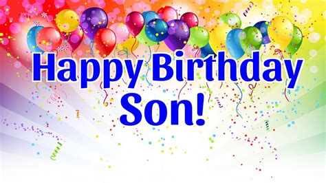 imagenes happy birthday son 140 birthday wishes for son quotes messages greeting