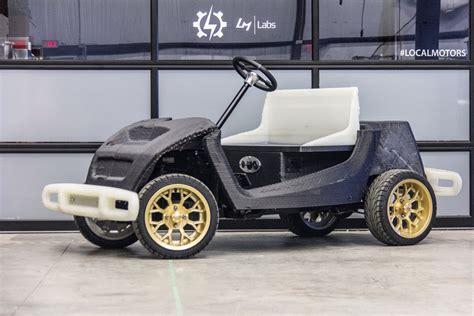 Asu Auto asu design local motors 3d printed car 3d printing industry