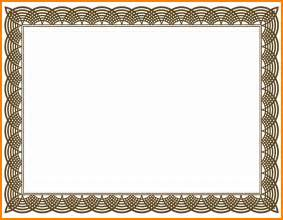 8  blank certificate design   resumes great