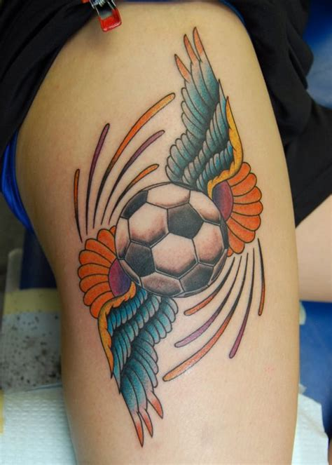 soccer tattoo design football images designs
