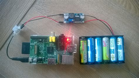 L Server Raspberry Pi by Feed Raspberry Pi With Aa Batteries