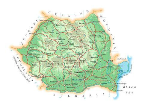 where is romania on a map romania tourist destinations