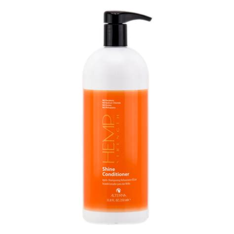 Alterna Professional Haircare Hemp Repair Conditioner by Alterna Hemp Strength Shine Conditioner 33 8 Oz Liter