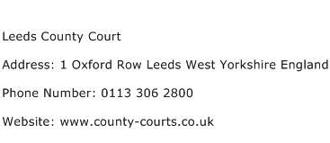Court Number Search Colorado Leeds County Court Address Contact Number Of Leeds County Court