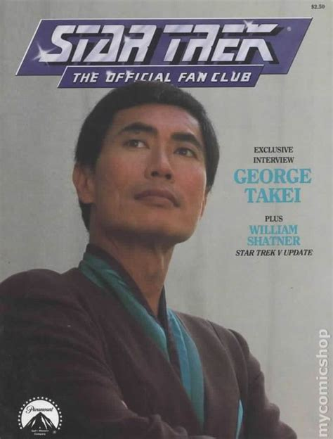 star trek fan club star trek the official fan club magazine 63 fn