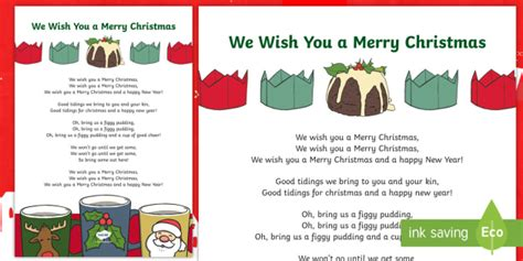 merry christmas song lyrics christmas song carol santa