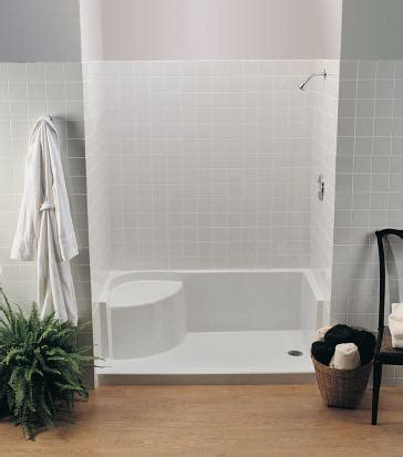 mti sb6030seat designer collection seated shower base