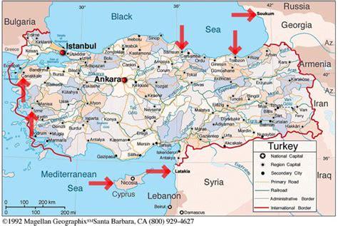 map of iran and turkey iran turkey border map images