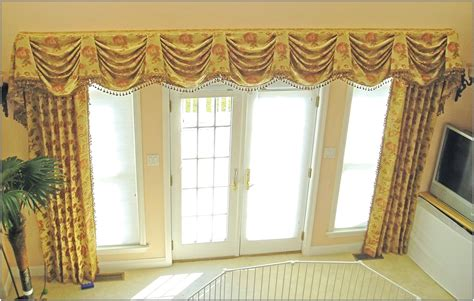 custom design window treatments custom window valance designs window treatments design ideas