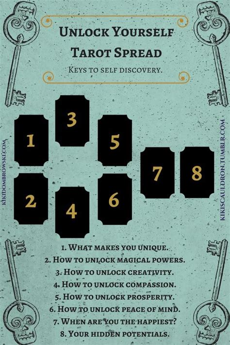 tarot for your self best 25 tarot spreads ideas on