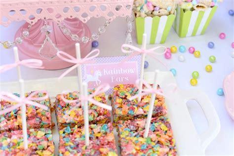 unicorn themed birthday party kara s party ideas pastel unicorn themed birthday party