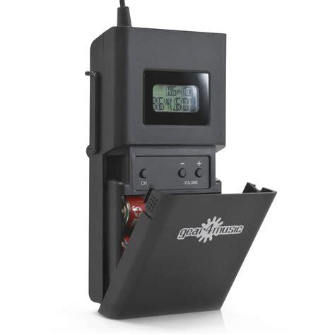 Ear Monitor Wireless wireless in ear monitor system pack by gear4music 2