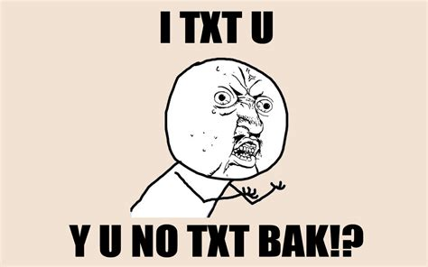 Yu No Meme Text - lol funny meme quot y u no quot guy