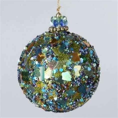 23 best christmas ornaments peacock theme images on