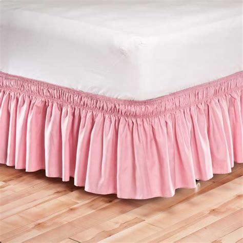 wrap around bed skirts wrap around bed skirt elastic bed skirt bed skirt