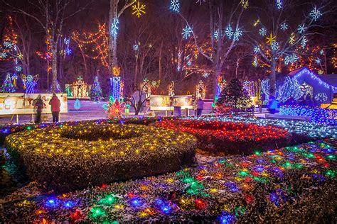 Festival Of Lights La Salette In Attleboro Massachusetts