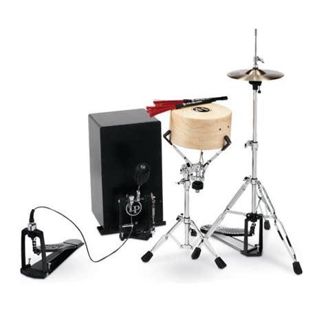 cajon with cymbals lp cajon kit cajons world percussion steve weiss music