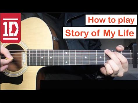 tutorial guitar love of my life story of my life one direction guitar lesson tutorial