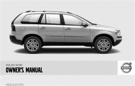 car repair manuals online free 2010 volvo xc90 transmission control 08 volvo xc90 2008 owners manual download manuals technical